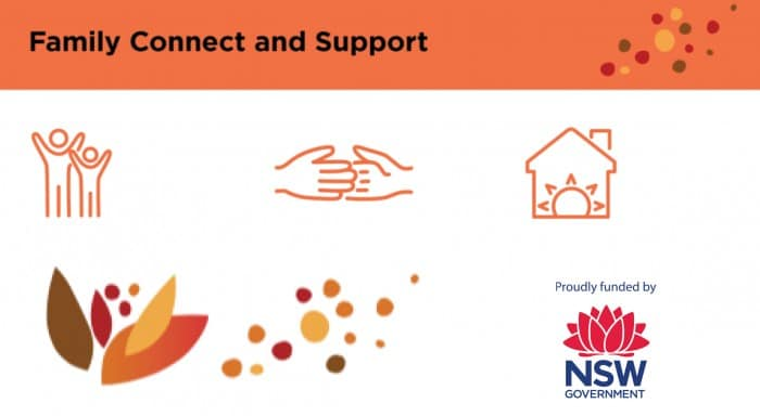 Family connect and Support: help to families funded by NSW government